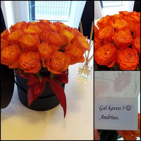 """Dėžutė rožių """"Armina"""