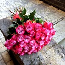 """Puokštė rožių 35vnt """"Rowena"""""""