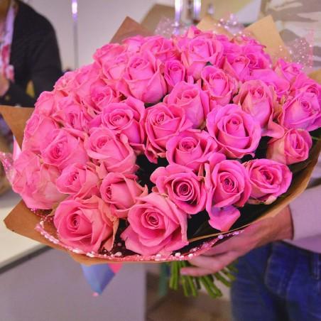 """Puokštė rožių 39vnt """"Katrine"""""""