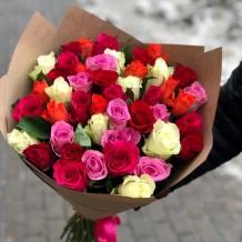 """Puokštė rožių 45vnt """"Inara"""""""
