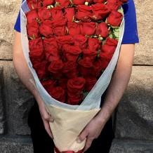 "Puokštė rožių 49vnt ""Lydia"""