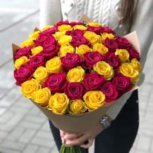 """Puokštė rožių 49vnt """"Pia"""""""
