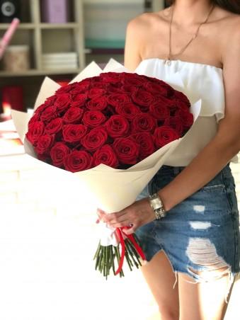 """Puokštė rožių """"Naomi"""" 49vnt"""