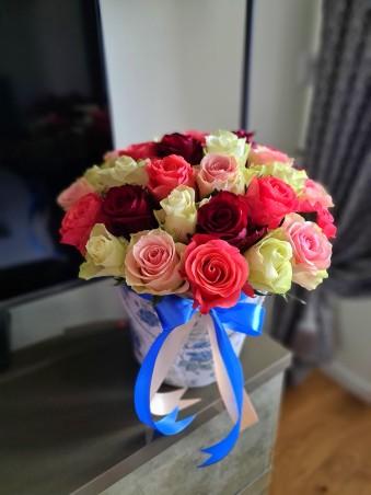 """Rožių dėžutė """"Elė"""""""