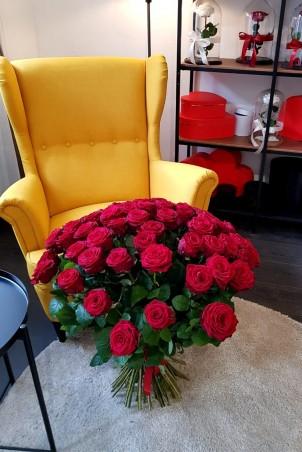 """Rožių puokštė 69vnt """"Alicia"""""""