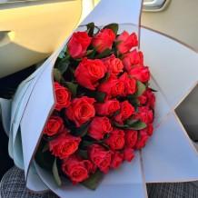 """Rožių puokštė """"Betė"""" (29vnt)"""
