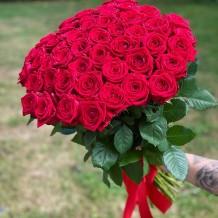 """Rožių puokštė """"Maja"""" (51vnt)"""