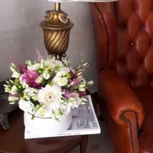 """Sezoninių gėlių dėžutė """"Purple"""""""