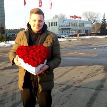 """Širdelė rožių """"In Love"""""""