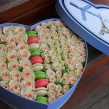 """Širdelė rožių """"Paola"""""""