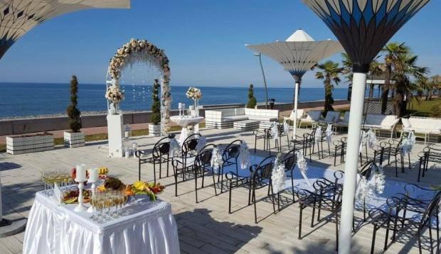 Vestuvės viskas įskaičiuota - Batumis (ant jūros kranto II)