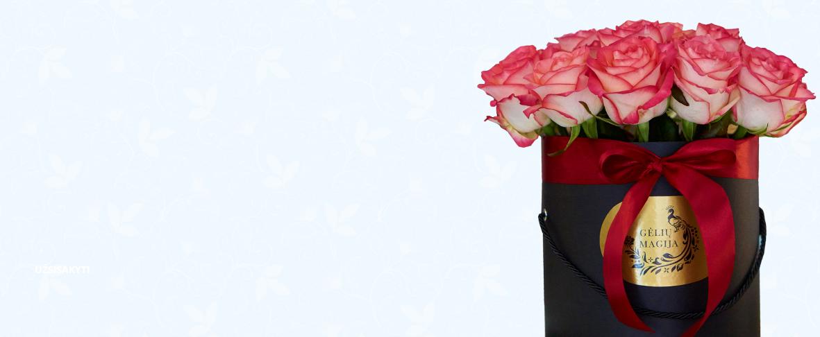 Gėlių magija - pristatymas į namus